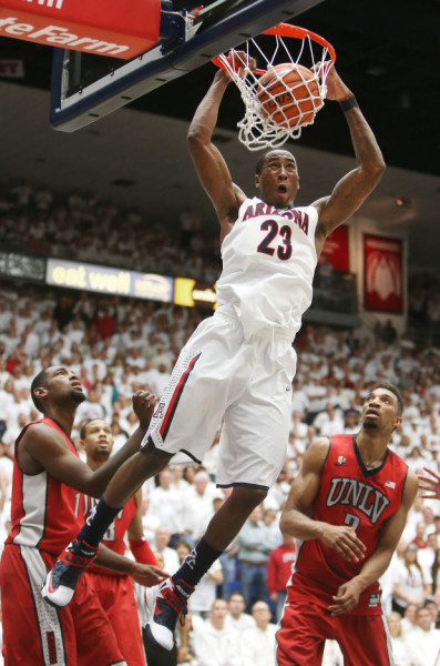 Rondae Hollis-Jefferson And The Wildcats Have Hoops Fans Intrigued (Mike Christy, Arizona Daily Star)