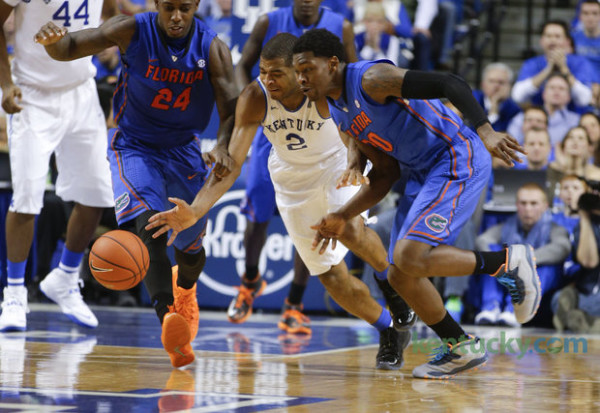 It's Gators and Wildcats at the Top of the SEC, Again
