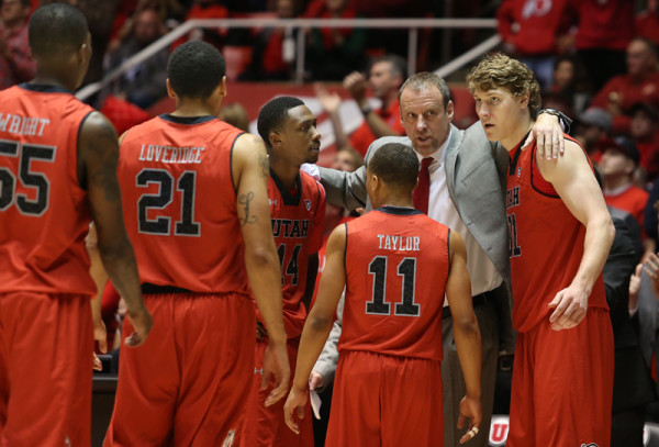 Larry Krystkowiak and The Utes Will Have To Deal With The Pressure Of Expectations For The First Time (Utah Basketball)