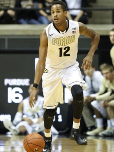 Vince Edwards has led Purdue to their hot start. (Jerry Schultheiss).