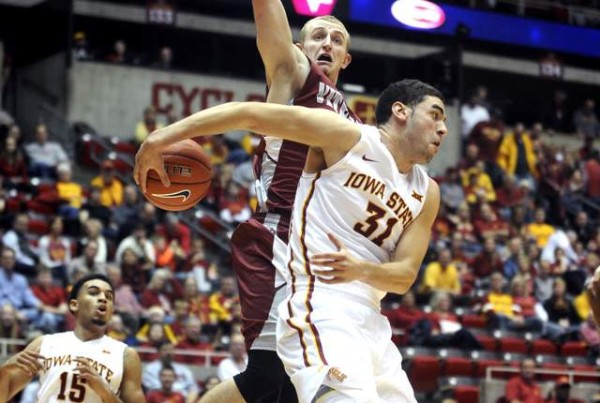 Georges Niang highlights the Big 12's selections on the Wooden Award Late Season Top 20 list. (Nirmalendu Majumdar)