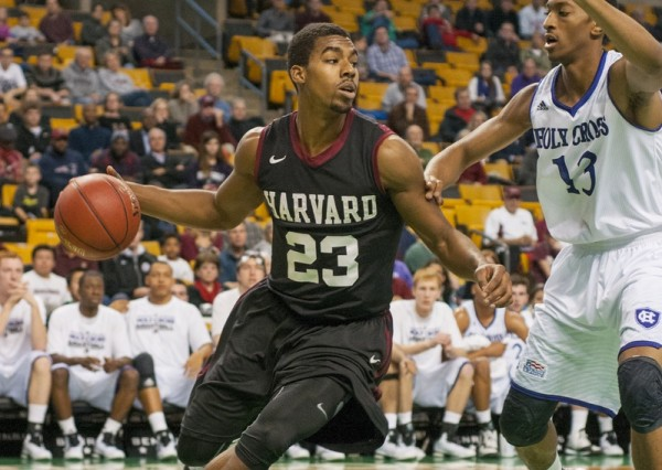 Harvard needs to bounce back after falling to Holy Cross on Sunday. (Robert F Worley/The Harvard Crimson)