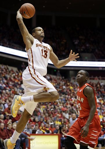 Bryce Dejean-Jones has turned into a hyper-efficient shooter under Fred Hoiberg (sorry, UNLV fans). (AP/Charlie Neibergall)