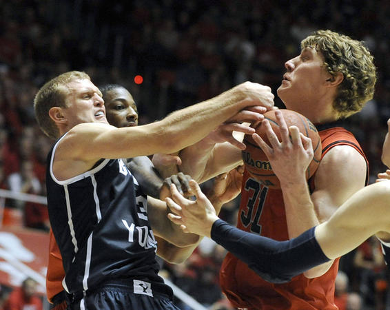 Utah-BYU should be a battle tonight. (Matt Gade, Deseret News)