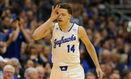 The jump shot may not be Kansas' weapon of choice, but three days after Brannen Greene torched Georgetown from deep, the Jayhawks will need another strong shooting day. (AP)