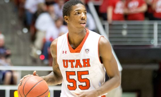 A big day from Delon Wright is paramount to Utah's chances of beating Kansas tomorrow (USA TODAY Sports)