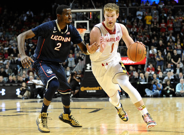 Senior Evan Smotrycz is still feeling things out with Maryland's newcomers after missing eight games due to an injury. (Zimbio.com)