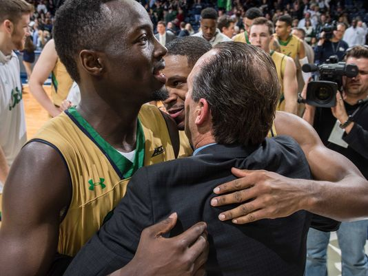 Coach Mike Brey and the Fighting Irish are thrilled to have Jerian Grant back (USAToday Sports)