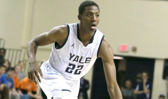 Despite some recent struggles from Justin Sears, Yale is chugging along. (Yale Athletics)