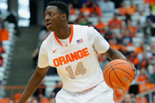 Syracuse's uninspiring start is due in part to the slow maturation of Kaleb Joseph (Rich Barnes)