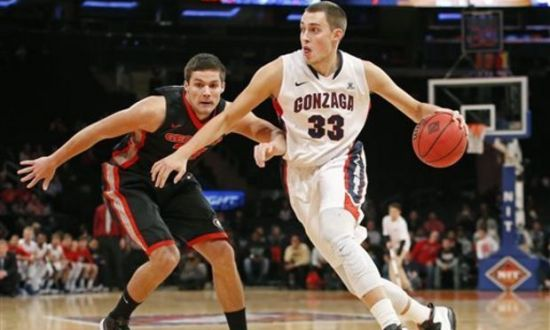 Kyle Wiltjer has fit right in with a talented Gonzaga squad. (AP)