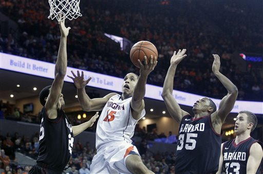 Malcolm Brogdon and Virginia's throttling of Harvard proved they're a player in the national conversation (AP Photo)