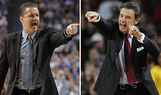 Want some thunder and lightning? Tune in when these two coaches go at it. (AP)