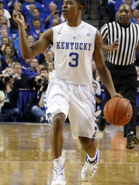 Tyler Ulis led an efficient Kentucky attack against Alabama with 11 points and two assists (AP Photo).