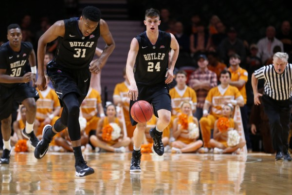 Butler Failed to Close Things Out at Tennessee Over the Weekend (USA Today Sports)
