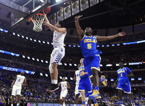 Kentucky Experienced a Lot of This on Saturday Against UCLA (USA Today Images)