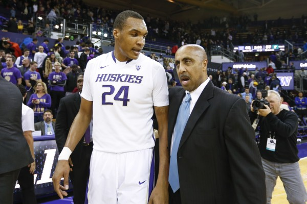 Lorenzo Romar and Robert Upshaw Didn't See This One Coming (USA Today Images)