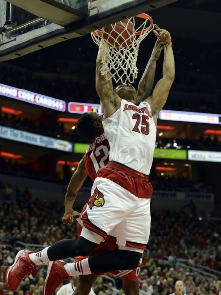 Wayne Blackshear's big night is hopefully a sign of more good things to come for Louisville (USAToday Sports)
