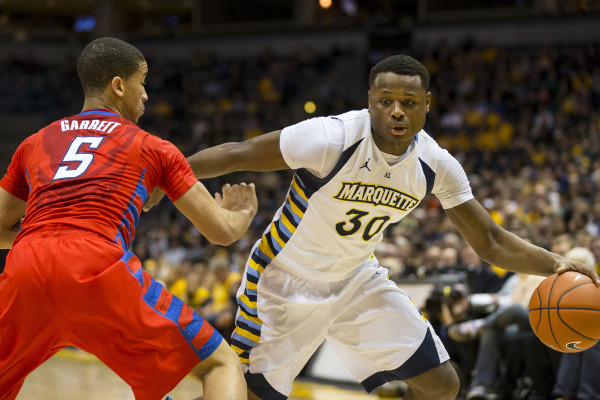 Marquette transfer Deonte Burton is headed to Iowa State (Jeff Hanisch/USA Today)