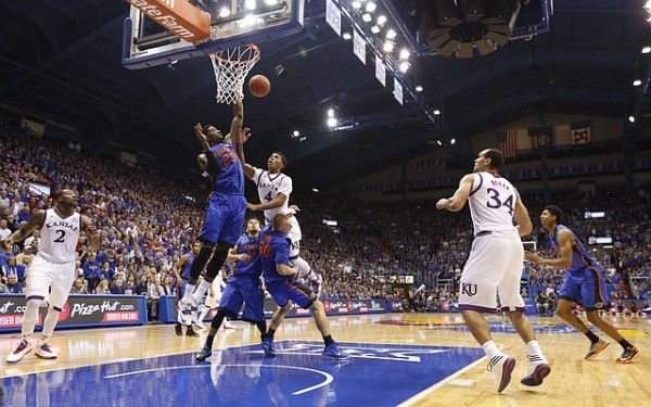Kansas will be without freshman guard Devonte' Graham for at least four weeks (Nick Krug/KU Sports)