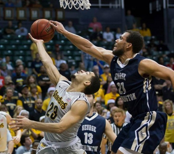 George Washington beat Wichita State and won the Diamond Head Classic. (Eugene Tanner / Associated Press)