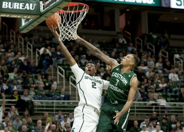 Freshman Javon Bess should provide added depth for the Spartans. (J. Scott Park | MLive.com)