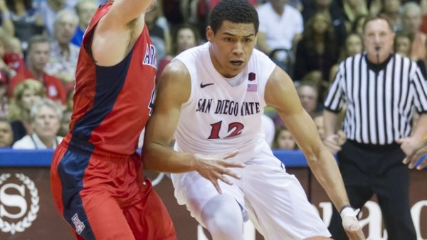 Trey Kell Looks Very Much Like The Future At The Point For The Aztecs
