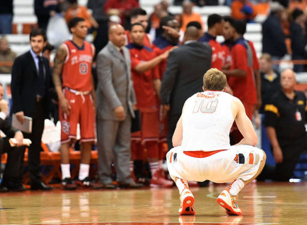 St. John's Stunned Syracuse in the Carrier Dome on Saturday (credit: Syracuse.com)
