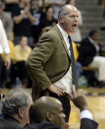 A Month Into The Season, Tad Boyle Has Plenty To Be Upset About On The Offensive End (Jeremy Papasso, AP Photo)