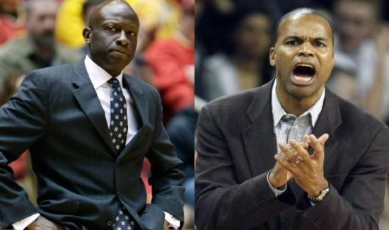 Despite their serious faces, James Jones (Yale) and Tommy Amaker (Harvard) have their teams playing very well right now.