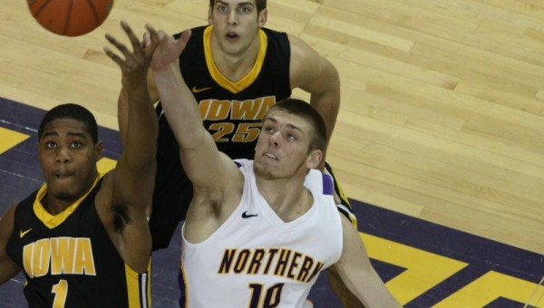 Seth Tuttle and the Panthers look to take down Iowa on Saturday. (UNI Athletics Communications)
