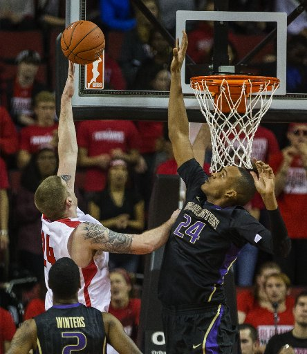 We'll Start Our Defense With Robert Upshaw On Both The Hardwood and The Gridiron (Dean Rutz, Seattle Times)