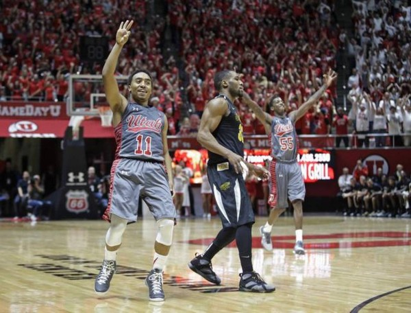 Utah's Win Wednesday Night Over Wichita State Was A Rare Recent Success, But Bodes Well For the Future (Rick Bowmer, AP)