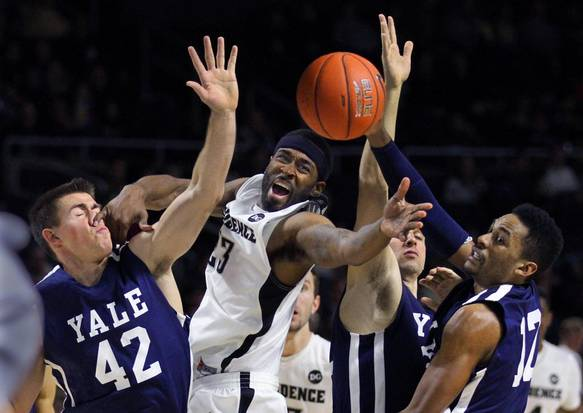Can Yale hang around with Connecticut on Friday night? (The Providence Journal/Glenn Osmundson)