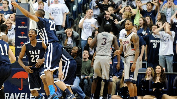 Yale beat UConn on Friday night, but that was only the beginning. (Fred Beckham / AP)