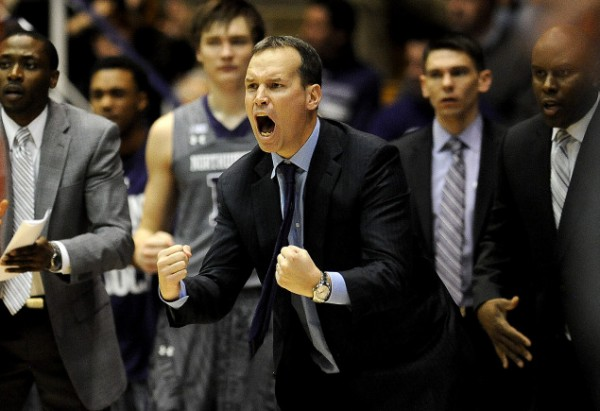 Chris Collins Displeasure With The Officiating Thursday Night Did Not Stop Him From Appreciating His Wildcats' Efforts