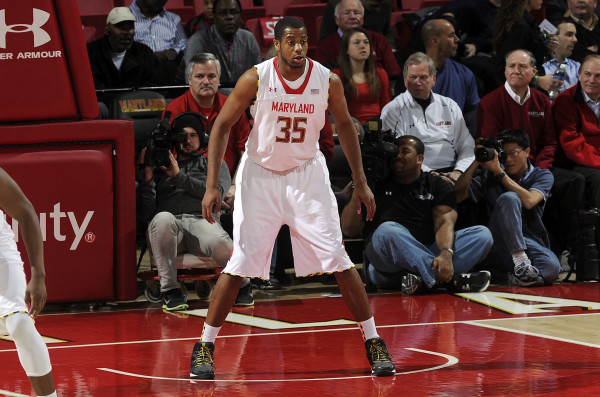Damonte Dodd has given Maryland a shot-blocking presence in the middle this season. (Kenneth K. Lam, Baltimore Sun)