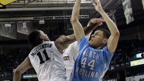 Justin Jackson continued his impressive stretch for the Tar Heels in a win over Wake Forest (espn.com)