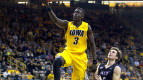 Peter Jok faces a big load as the only returning starter for Iowa in 2016-17. (Alyssa Hitchcock, The Daily Iowan)