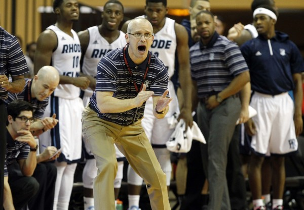 Rhode Island's Dan Hurley (USA Today Images)