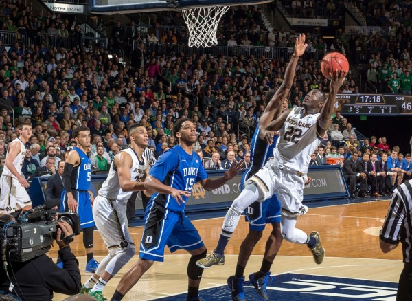 Jerian Grant Was NPOY Good in South Bend Wednesday Night (USA Today Images)