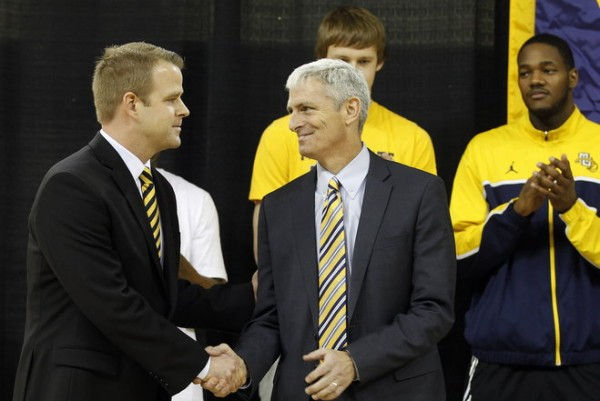 Steve Wojciechowski's first job as a head coach is to rebuild a proud Marquette program.