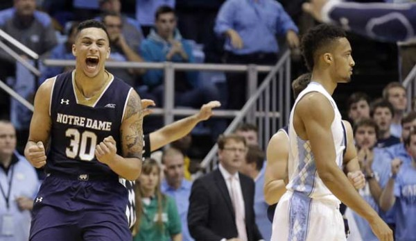 Zach Auguste has had a great start to ACC play, including the winning bucket against North Carolina (AP Photo)