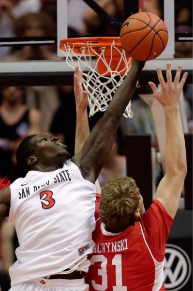 Angelo Chol's Efficient Offensive Game Could Help The Aztecs' Struggles (AP Photo)