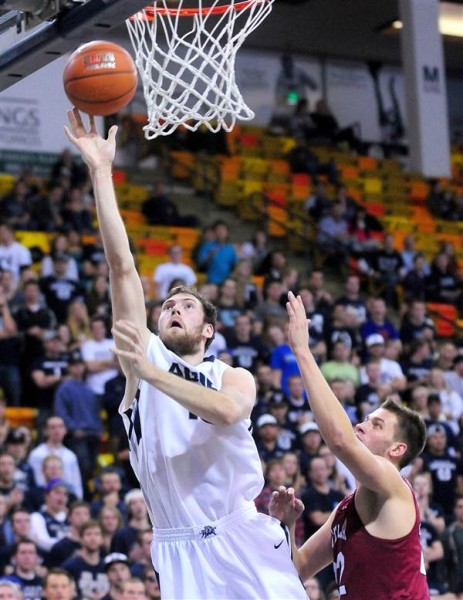 David Collete Is One Half Of An Underclassmen Duo That Should Serve Utah State Well (John Zsiray, AP Photo)