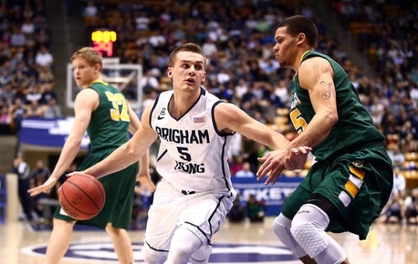 BYU's Kyle Collinsworth recorded yet another triple-double this week. (Jaren Wilkey/BYU)