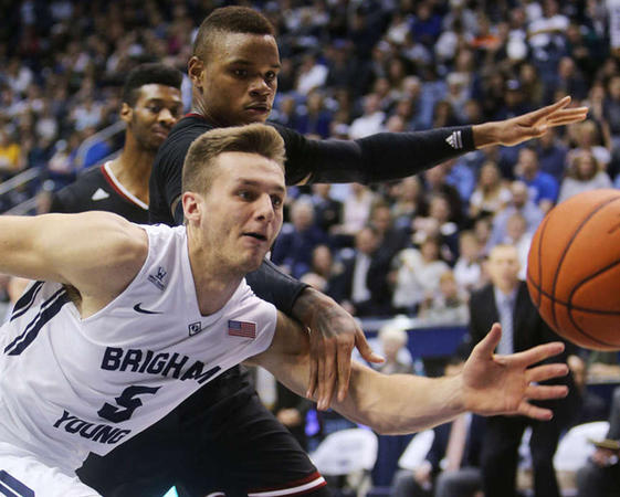 BYU's versatile point guard is our O26 Mid-Season POY. (Scott G Winterton, Deseret News)