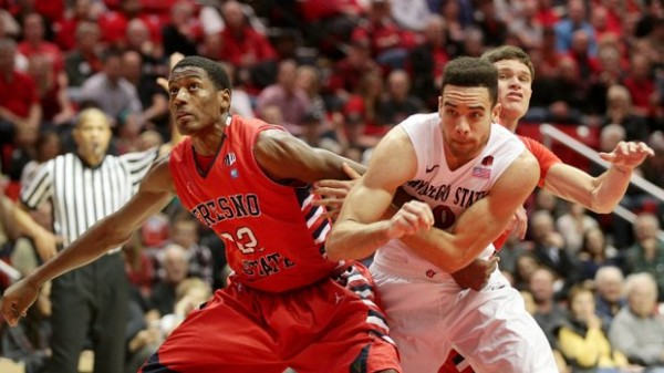 Fresno State took down San Diego State for the first time since 2000. (Sean M. Haffey / UT San Diego)