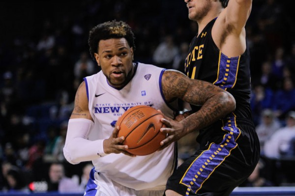 Justin Moss and the Buffalo Bulls should compete for the MAC East crown. (Chad Cooper, The Spectrum)