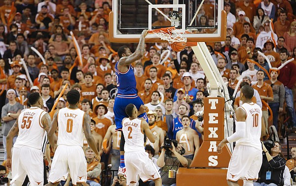 Cliff Alexander and the Jayhawks are ahead of the pack after a big win in Austin and some help from Texas Tech. (KUSports.com/Nick Krug)